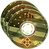 img - for 4th Infantry Division WW2 RESEARCH CD OF BOOKS, INFO, FILES, REPORTS, NARRATIVES, HISTORY 3CDs book / textbook / text book