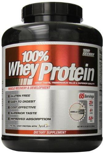 Top Secret Nutrition 100% Whey Protein Powder, Vanilla, 5 lbs. (Top Secret Nutrition Whey compare prices)