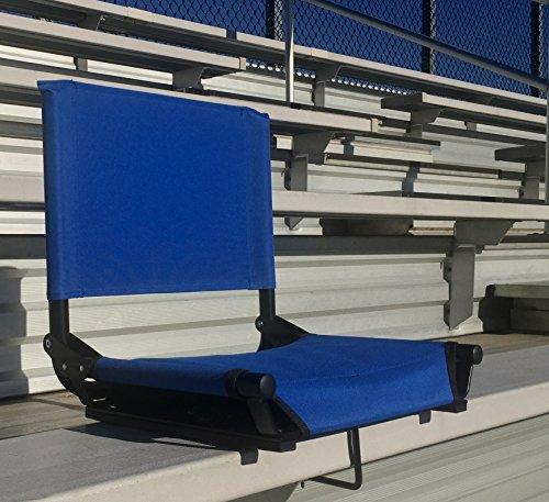 Stadium Seat By Cascade Mountain Tech Royal Blue Sporting Goods Outdoor Rec