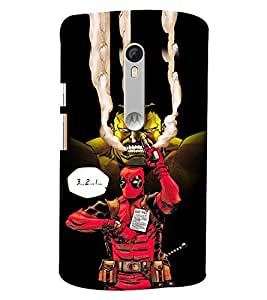 Clarks Printed Designer Back Cover For Moto X Style