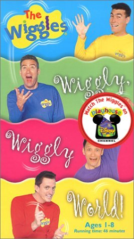 The Wiggles - Wiggly  Wiggly World   VHS The Wiggles Wiggly Wiggly World Vhs