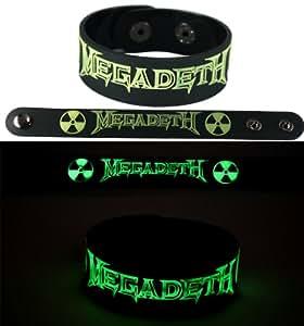 Amazon.com: Megadeth New Bracelet Wristband Gg127 Glow In