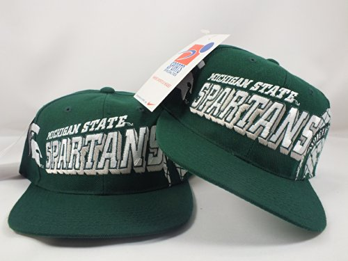 Buy Michigan State Spartans NCCA New Grid Snapback Cap by Sports Specialties by Sports Specialties