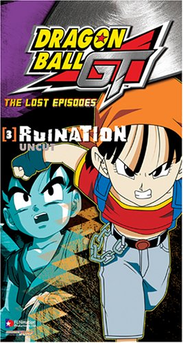 Dragon Ball Gt 3: Lost Episodes - Ruination [VHS]