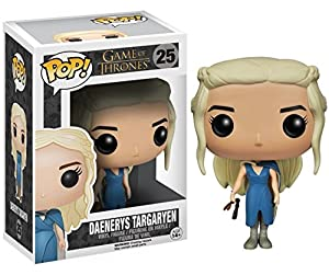 Daenerys Targaryen in Blue Outfit w/ Staff: Funko POP! x Game of Thrones Vinyl Figure