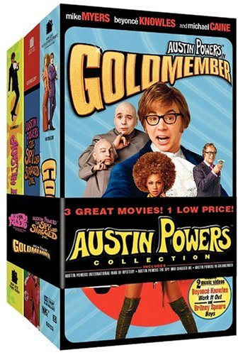 Austin Powers Collection (International Man of Mystery / The Spy Who Shagged Me / Goldmember) [VHS]