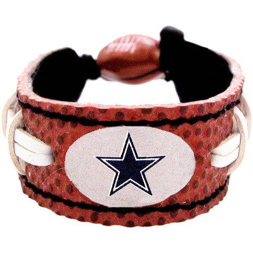 NFL Dallas Cowboys Classic Football Bracelet at Amazon.com