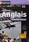Anglais Immersion Orale - Pack 4 CD 100 % Audio...