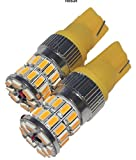 T10 LEDバルブ 3014SMD 36連 2個セット Canバス 選べる光 純白光 黄色 DC10-30V ルームランプ バックランプ等に (黄光)