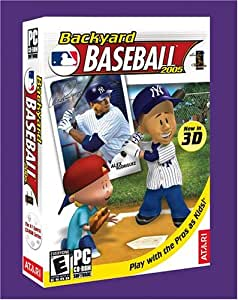 backyard baseball 2005 pc video games