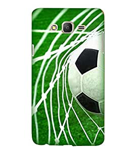 Printvisa Premium Back Cover Football The Greatest Sport Green Backround Design For Samsung Galaxy On7::Samsung Galaxy On7 G6000FY