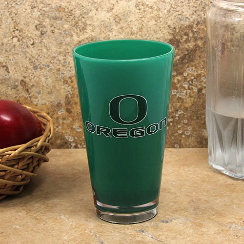 Ncaa Oregon Ducks 16Oz. Team Color Plastic Pint Cup