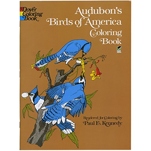 Dover Publications-Audubon's Birds Of America Coloring - 1