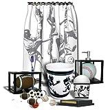 Amazon.com: Sports Fanatic Bath Decor - 7pc Set: Explore similar items
