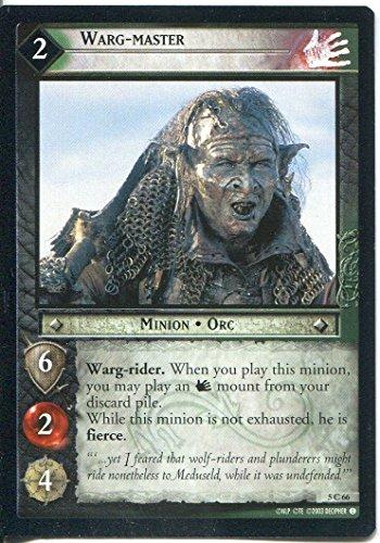 Herr der Ringe/CCG-BohD 5.C66 Warg Master
