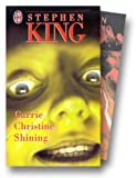 echange, troc Stephen King - Coffret Stephen King, coffret 3 volumes, tome 1 : Carrie, Christine, Shining