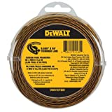 DEWALT DWO1DT801 String Trimmer Line, 50-Feet by 0.080-Inch (Tamaño: 50-Feet by 0.080-Inch)