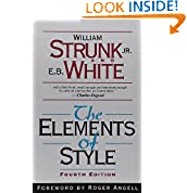 William Strunk Jr. (Author), E. B. White (Author), Roger Angell (Foreword)   2194 days in the top 100  (849)  Buy new:  $9.95  $6.93  699 used & new from $3.00