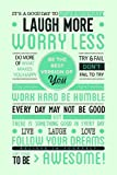 Posterboy 'Laugh More Worry Less' Poster