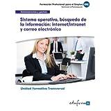 Uf0319 (Transversal) Sistema Operativo, Búsqueda de La Información: Internet/Intranet y Correo Electrónico. MF0233...
