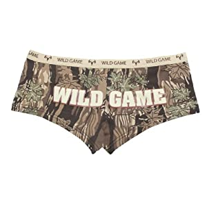 "Woman's Smokey Branch ""Wild Game"" Booty Shorts by Rothco"