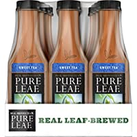 12-Pack Pure Leaf Iced Tea, Sweet, Real Brewed Tea, 18.5 Ounce Bottles