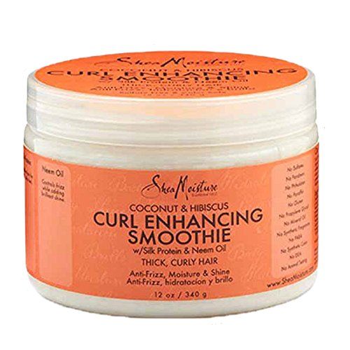 SheaMoisture Coconut & Hibiscus Curl Enhancing Smoothie, 12 Ounce (Shea Hair Conditioner compare prices)