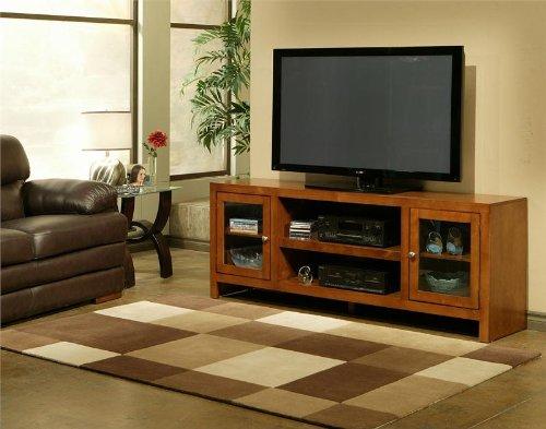 Del Mar 72 Inch Television Console - Honey Maple