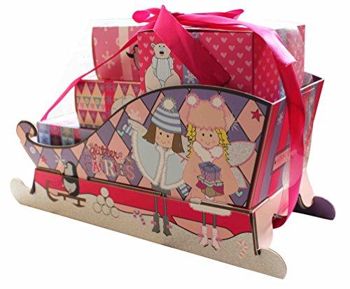 Grace Cole Glitter Fairies Sleigh Ride Set : Body Wash Bagno Schiuma Confetti lucidatore
