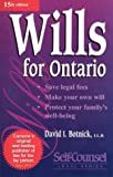 Wills for Ontario