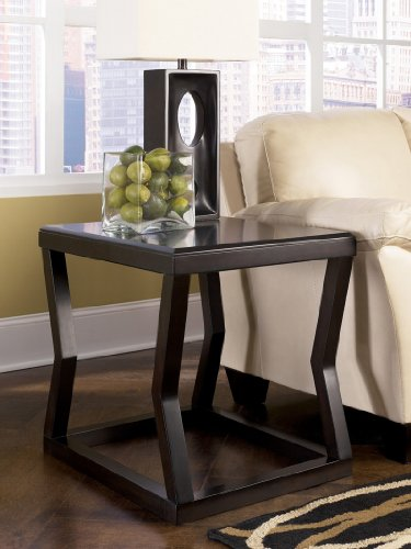 Image of Contemporary Espresso Kelton End Table (T592-3)