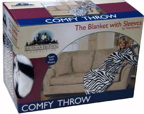 Vmi Comfy Throw, Zebra Print front-1076233