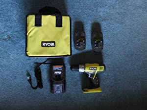 Ryobi 18-Volt ONE+ Lithium-ion Drill Driver Kit R817