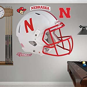 NCAA Nebraska Cornhuskers 2013 Helmet Wall Graphic by Fathead