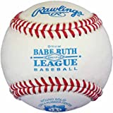 Rawlings RBROGP-AS Babe Ruth League Full Grain Leather Baseball (Sold in Dozens) (For Local League Play Only)