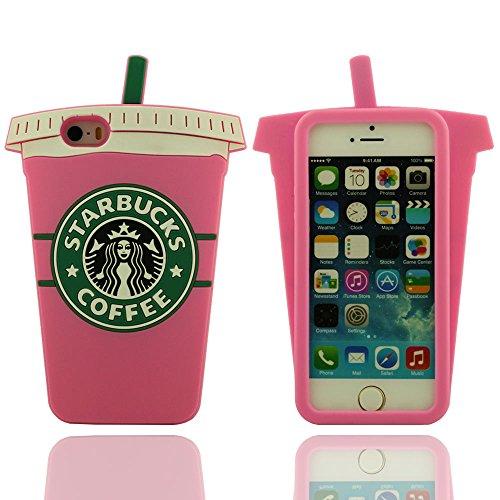 Tasse Kaffee Modellieren, Weich Schutzhülle Hülle für iPhone SE iPhone 5 iPhone 5S iPhone 5C iPhone 5G, Prämie Silikon-Gel Case Cover Bumper Soft Case