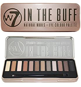 W7 Natural Nudes Naked Eye Colour Palette
