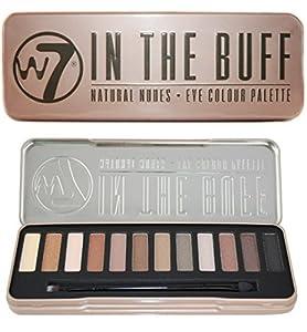 W7 In the Buff Eye Colour Palette, 1er Pack (1 x 132 g)