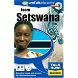 Talk Now Learn Setswana: Essential Words and Phrases for Absolute Beginners (PC/Mac)by EuroTalk Limited