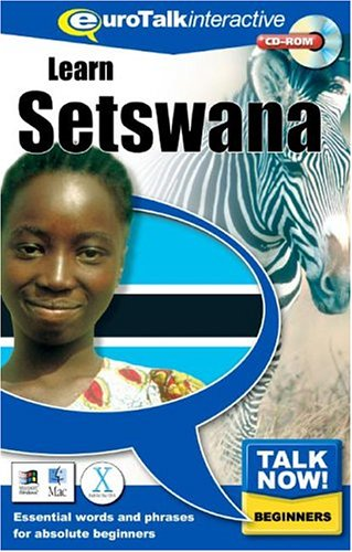 Talk Now Learn Setswana: Essential Words and Phrases for Absolute Beginners (PC/Mac)