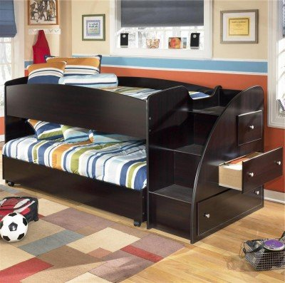 Affordable Embrace Youth Twin Loft Bed With Trundle Kid