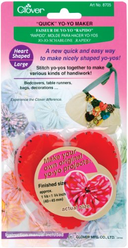 "Quick Yo Yo Maker-Heart 1-5/8""X1-3/4"""