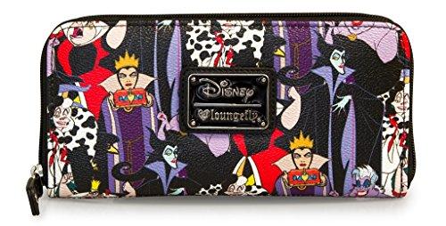 loungefly-disney-female-villains-evil-queen-maleficent-cruella-ursula-wallet