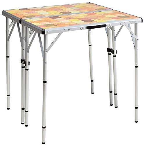 Coleman 2000016594 Pack-Away Outdoor 4-In-1 Mosaic Table