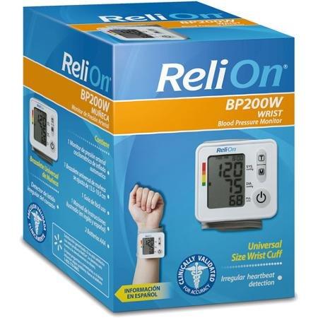 Relion BP 200W Wrist Blood Pressure Monitor