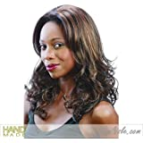 FM-114 (Motown Tress) - Synthetic Mono Front Full Wig