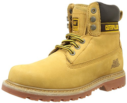 CaterpillarHolton Soft Toe Ob E Hro Src - Stivali Uomo , Giallo (Jaune (Honey)), 43