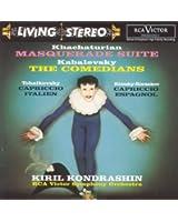 Masquerade Suite; The Comedians; Capriccio italien; Capriccio espagnol