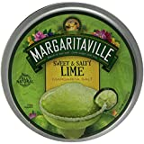 Margaritaville Sweet & Salty Lime Margarita Salt, 4-ounce Container
