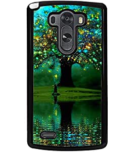 ColourCraft Amazing Tree Design Back Case Cover for LG G3